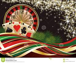 christmas casino invitation background stock vector image 47689231