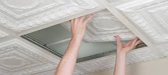Recessed Lighting For Drop Ceiling by How To Install Drop Ceiling Tiles Ceilume