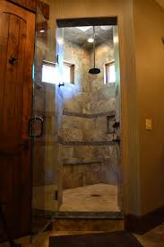 shower renovation ideas bathroom rustic with tall ceiling tile