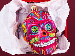 sugar skull ornament artistry of poland ahalife