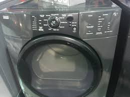 Kenmore Elite Washer Pedestal Kenmore Elite He3 Charcoal Grey Front Load Washer U0026 Dryer Set With