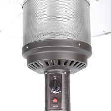 Fire Sense Patio Heater Reviews Firesense Gas 40 000 Btu Commercial Patio Heater In Mocha Costco