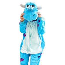 sully costume aliexpress buy thick soft flannel p sulley