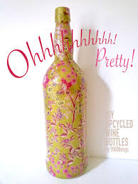 Upcycled Wine Bottles - upcycle wine bottles 9000things a diy design and handmade blog