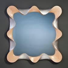 Mid Century Modern Wall Mirror Modern Wall Mirror By David Hurwitz Custom Wall Mirrors Made In