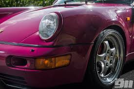 porsche 964 wide body seven photos that will make you wish your life contained a