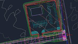 autocad civil 3d site design