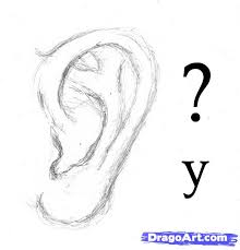 how to sketch an ear step by step ears people free online