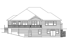 View Floor Plans For Homes House Plans Rear View Lot Home Design And Style Home Plans For
