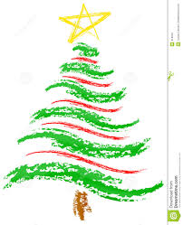 christmas tree sketch royalty free stock images image 319919
