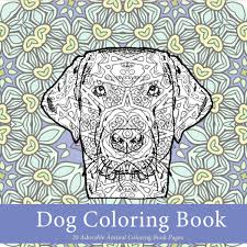 featured dog coloring book 20 adorable animal coloring book