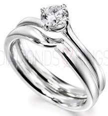 bridal ring sets uk rbc190 swirl engagement ring and matching weddign ring set