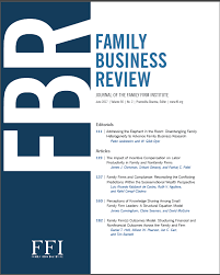 about family business review family firm institute inc