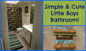 little boy bathroom ideas cute cartoon boy bathroom stock illustration shutterstock