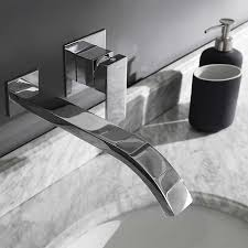Wall Mounted Bathroom Faucet Ove Allure Wall Mounted Bathroom Faucet