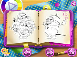 minions coloring pages kids minions coloring pages games
