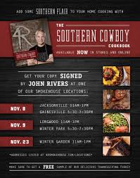 cooking with john rivers of 4 rivers smokehouse adventures with