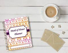 of honor planner ultimate of honor planner a5 wedding organizer bridesmaid