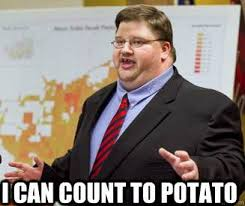 Count To Potato Meme - fresh count to potato meme i can count to potato down syndrome