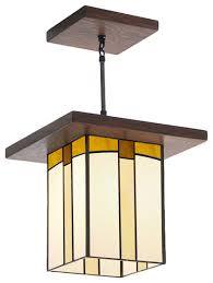 Craftsman Style Kitchen Lighting Mission Style Lantern For Hallway Entryway Over A Kitchen Island