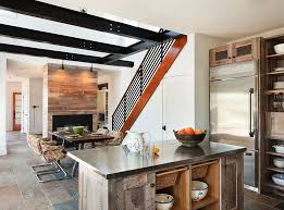 15 fascinating oval kitchen island 20 gorgeous ways to add reclaimed wood your kitchen intended for