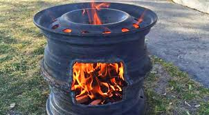 How To Make A Homemade Fire Pit Old Tire Rims Make For The Best Diy Fire Pits