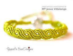 bracelet macrame patterns images Exotic twisted path bracelet micro macrame tutorial with video on