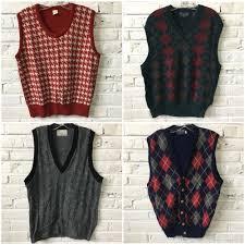 mens sweater vests mens sweater vest by the bundle bulk vintage clothing
