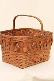 vintage picnic basket vintage picnic basket or market basket winnebago indian
