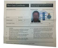 your firearms certificate when moving house shooting uk