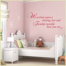 Wall Decor For Baby Room Baby Wall Sticker We Wished Upon A Shining And Twinkle