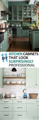 Upcycled Kitchen Cabinets 11 Painted Kitchen Cabinets That Look Surprisingly Professional