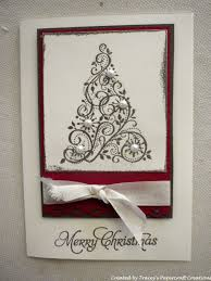 christmas card created in stamp club cards pinterest