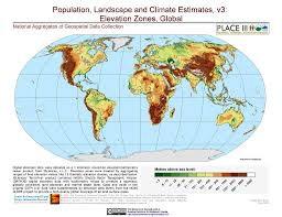 World Climate Map by Maps Population Landscape And Climate Estimates Place V3