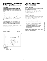 Kenmore Dishwasher Will Not Start Page 14 Of Kenmore Dishwasher 587 141500 User Guide