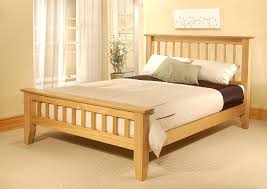 Queen Wood Bed Frame U2013 by Wood Bed Frame Designs Plans Ideas Homes Alternative 19141 With