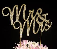 bling cake toppers mr mrs wedding cake toppers bling cake topper cake