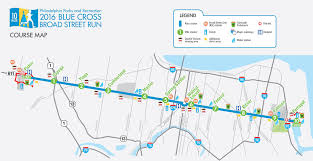 Philly Subway Map by Broad Street Run Guide For Runners And Spectators Be Well Philly