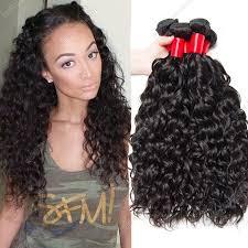 wet and wavy human hair weave hairstyles virgin hair natural wave 4bundles indian water wave human hair