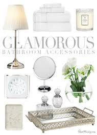 Discount Bathroom Accessories by White And Silver Bathroom Accessories Going Light Bright And