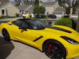 black and yellow corvette the official velocity yellow stingray corvette photo thread