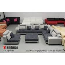 Big Sectional Sofas by Diamond Modern White Leather