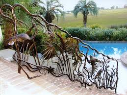 Swimming Pool Handrails Custom Pool Handrails U2014 Home Landscapings Variety For Your