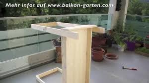 klapptisch selber bauen balkon free klapptisch aufhngen
