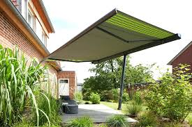 free standing awning freestanding awning covering a patio free