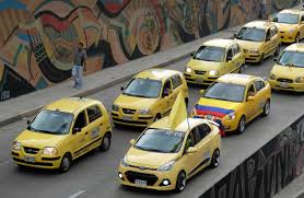 Bogota Flag Taxi Protest Jams Traffic In Colombia U0027s Capital The City Paper