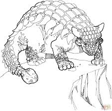 printable 23 realistic dinosaur coloring pages 4943 ankylosaurus