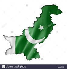 Flag Of Pakistan Image Pakistani Flag Map Stockfotos U0026 Pakistani Flag Map Bilder Alamy