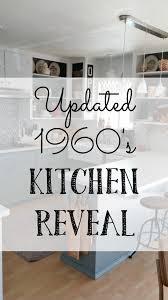vintage kitchen cabinet makeover updated 1960 s kitchen reveal vintage cottage