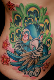 tattoos style animals color